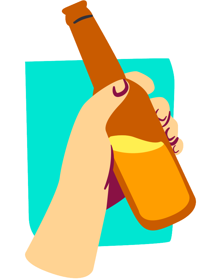 Alcohol illustration